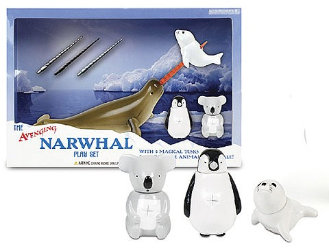 Avenging Narwhal Playset